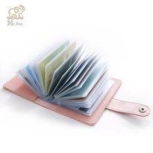2 шт/компл мини кошелек из искусственной кожи для удостоверения