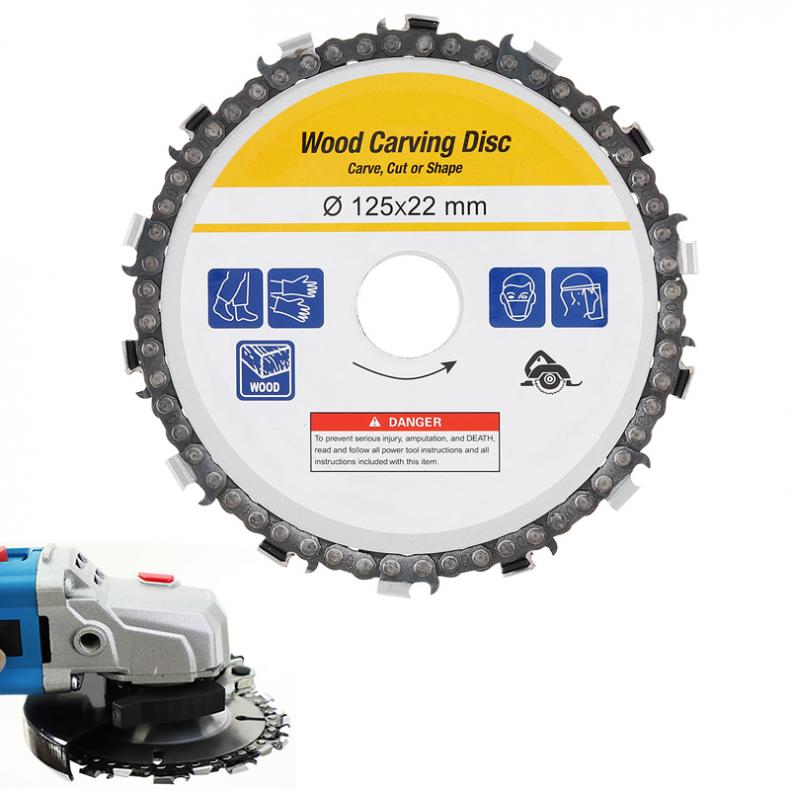 Circular Practical  Saw Blade 125mm Grinder Saw Disc Carbide Tipped Wood Cutting Blade Power Tool Accessories
