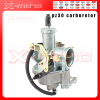 PZ30 30mm Carburetor Accelerating Pump Racing 200cc 250cc For Keihin ABM IRBIS TTR 250 CG125 and Other Motorbike Moto