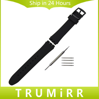 Silicone Rubber Watchband 17mm 19mm 20mm For Swatch Men Women Watch Band Wrist Strap Replacement Belt