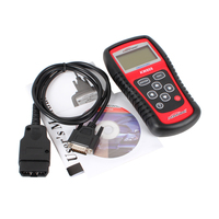 One Set Portable Car Truck Diagnostic Scanner Tool Auto OBD 2 KW807 Fault Code Reader Scanners With CD