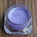 Moda light purple Cor Creme Pequena Multa Glitter Sombra Maquiagem Brilho Sombra de Olho Cosméticos SALÃO N06