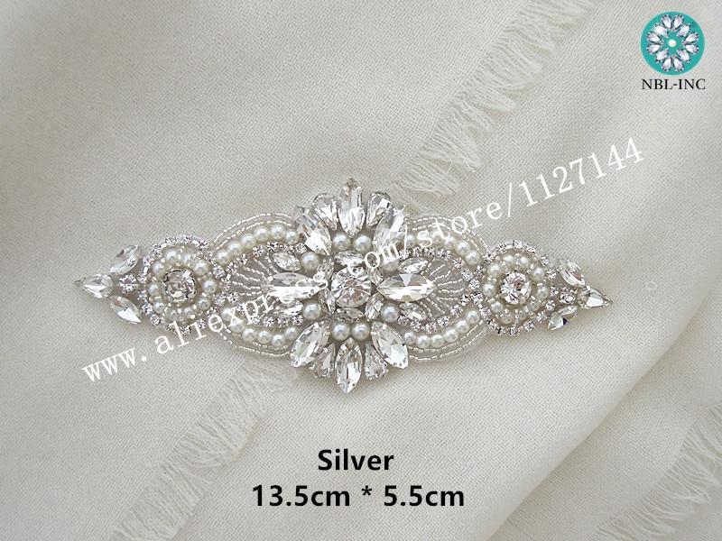 Pz abito da sposa strass applique ferro fai da te su da sposa