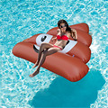 "140CM Inflatable ""Shit"" Funny Pool Float Inflatable Pool Toys Ride-On ""Shit"" Float Pool Swim Ring For Water Holiday Fun Party"