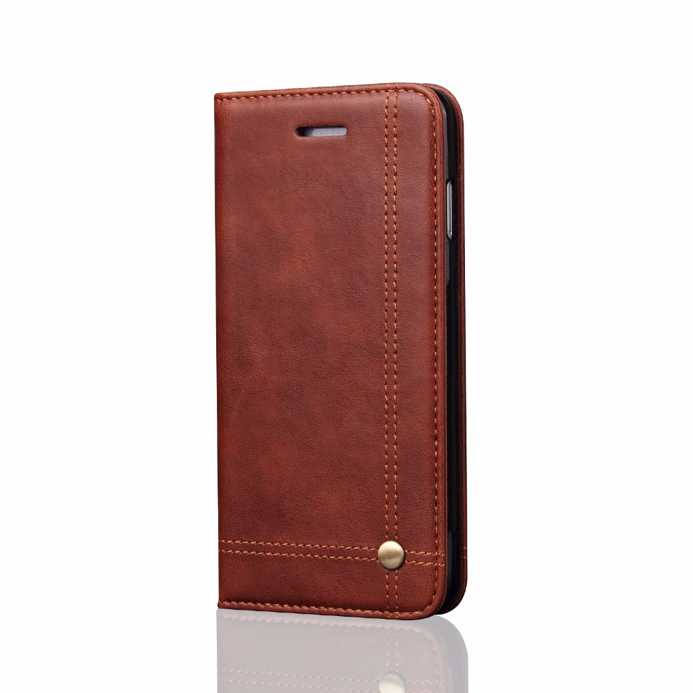 YeeSite Universal Flip Case For iPhone 8 7 6 6S Cover Luxury PU Leather Wallet Case Hard Back Cover Mobile Phone Shell