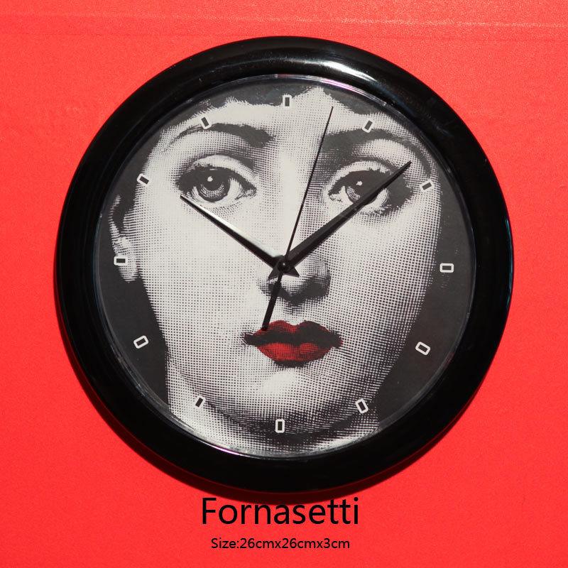 Buy Geek Fornasetti Wall Clock Home Decor Leiser Large Wall Clock Relogio De