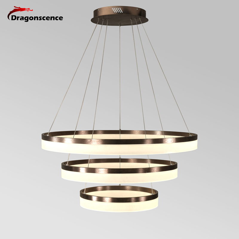 Luxury Modern Chandelier Led Circle Ring Chandelier Light