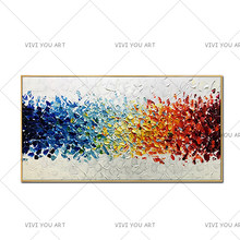 Fashion Abstract Handmade Oil Painting Style Modern Wall Art Canvas Painting Acrylic Paints For Home Wall Decoration No Frame(China)