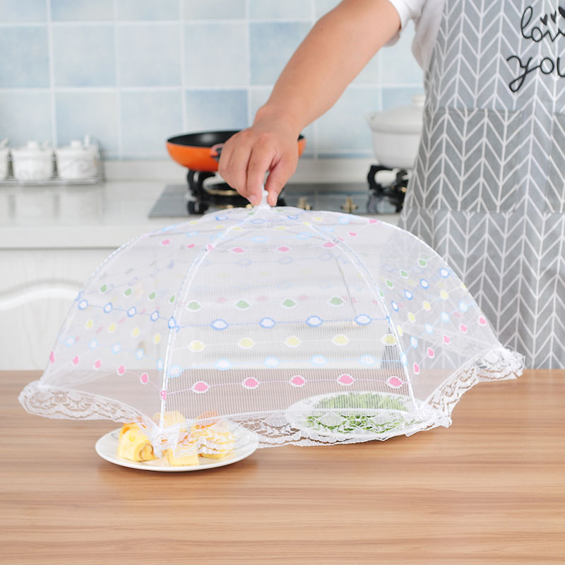 Specialty Tools Creative home large fly-proof dish cover food cover fine mesh ventilation insect cover dropship 0802