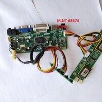 kit for M170EG01 V7 17 1280X1024 DIY M.NT68676 DVI VGA LVDS 4 lamps Driver HDMI Controller board Monitor Screen 30pin