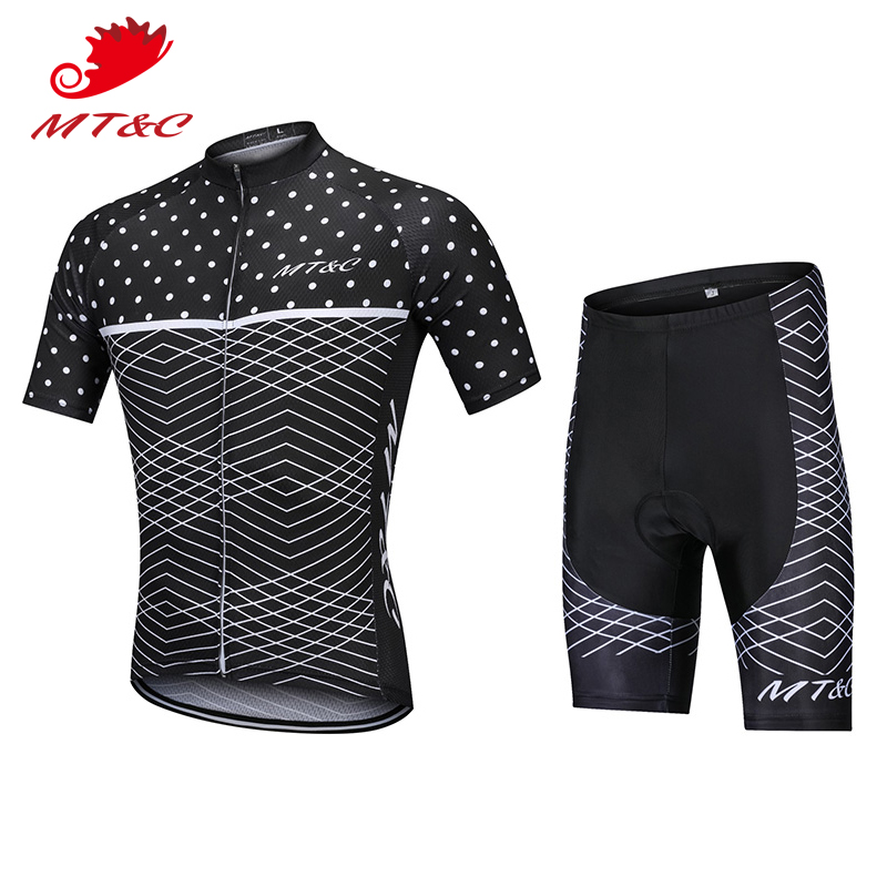 Bicycle 2018 bretelle ciclismo downhill Set Black With White Fish Grain Breathable camisa bicicleta maillot ciclismo roupas 20 S