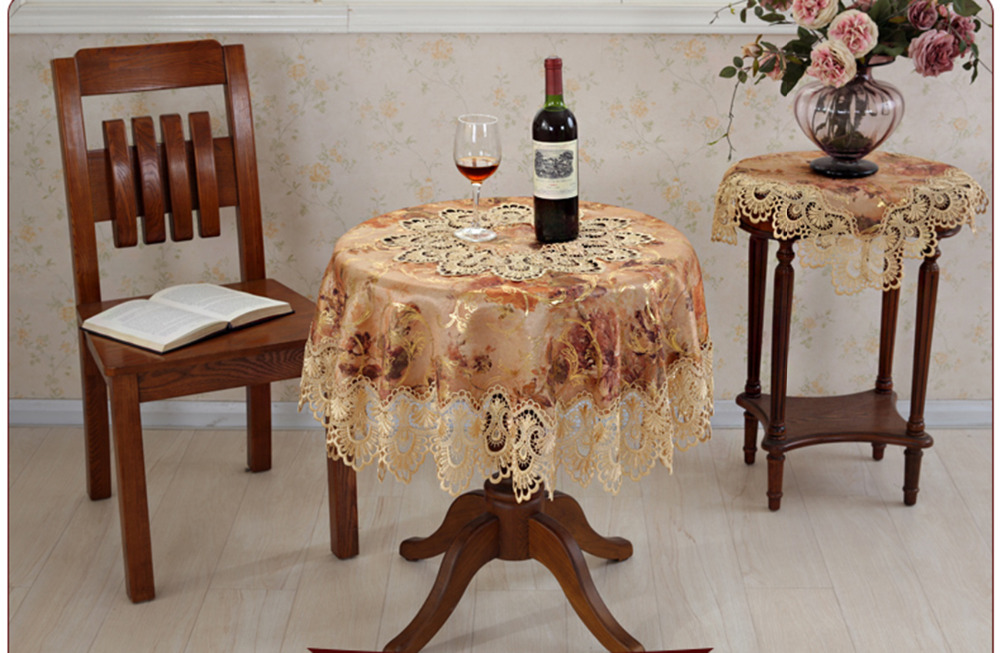 hot sale elegant 100 european lace jacquard tablecloth for wedding party home table linen cloth. Black Bedroom Furniture Sets. Home Design Ideas