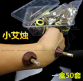 300 pcs seis caixas de tubo de massagem acupuntura moxa moxabustão moxa auto-adesivo etiqueta tubo stickerNatural Moxa terapia meridianos