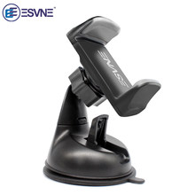 ESVNE Universal Car Phone holder for iPhone smartphone Mobile phone car holder stand windshield mount Support cellular phone(China)