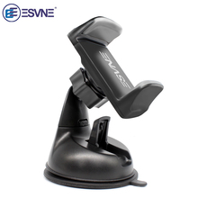 ESVNE Universele Auto Telefoon houder voor iPhone smartphone Mobiele telefoon auto houder stand voorruit mount Ondersteuning mobiele telefoon