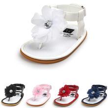 Summer Baby Girl Shoes Newborn Princess Flower Party
