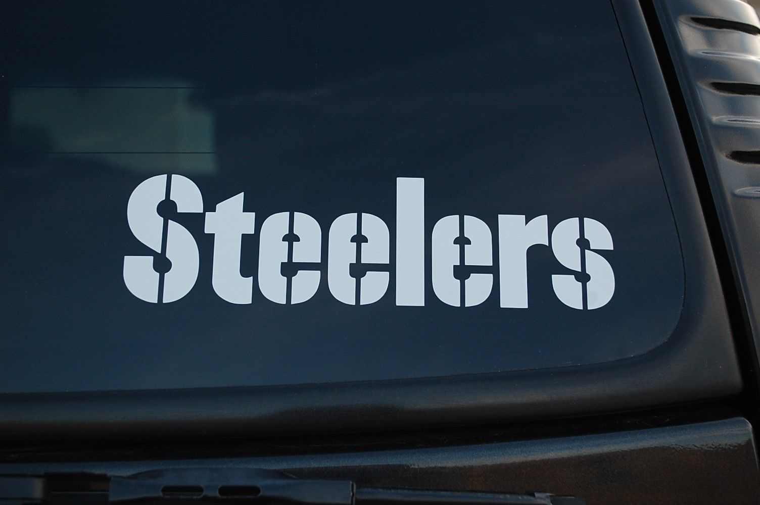 Steelers vinyl decal sticker high quality football 15cm