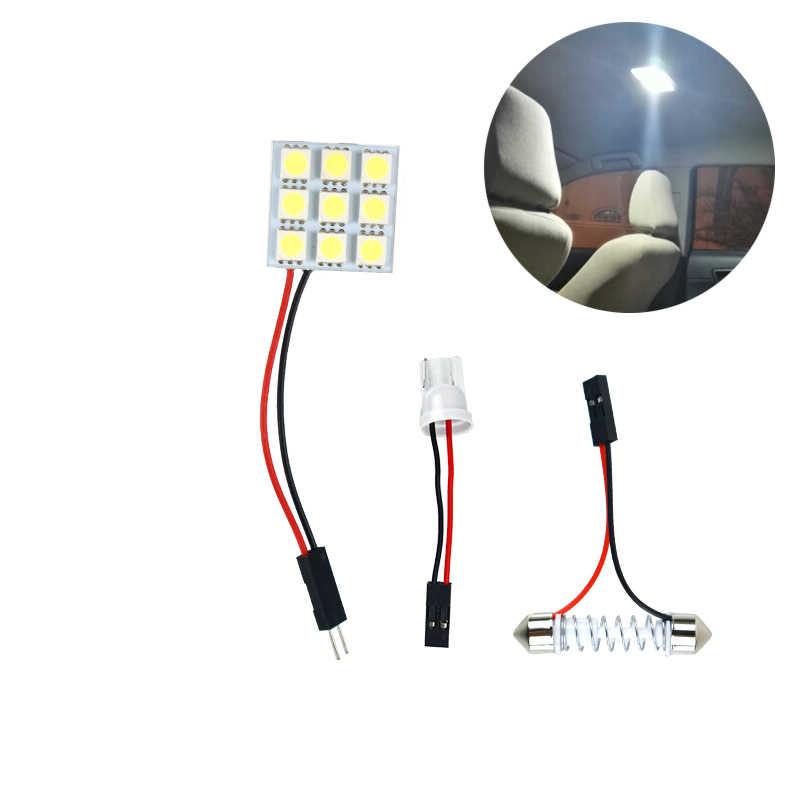 DIY LED Nội Thất Ô Tô Đèn Đọc Sách xe ô tô Miếng Dán Đèn LED Bảng Điều Khiển Ánh Sáng để định vị ô Fiat Honda Kia Xe đạp Peugeot 206 307
