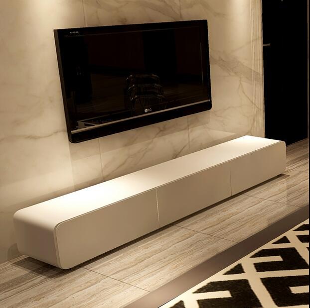 Paint modern minimalist living room tv cabinet tv stand for Tv furniture