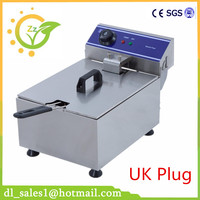 1 Piece Free Shipping 10L Electric Deep Fryer Stainless Steel Commercial Fryer
