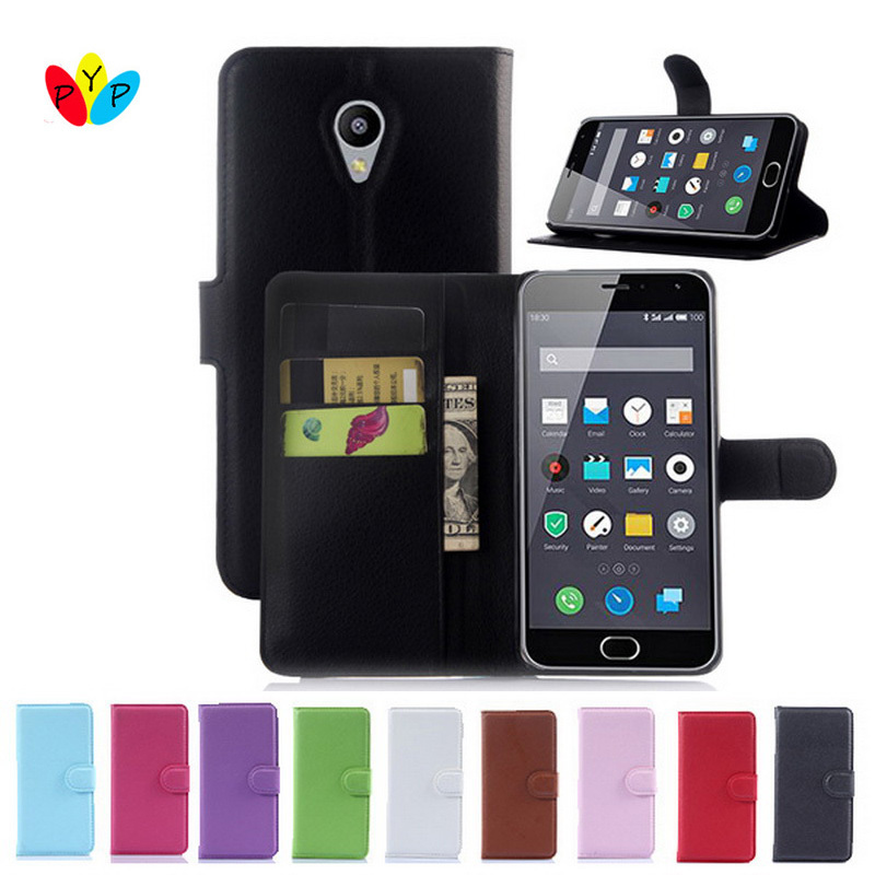 Hot Selling Meizu M2 MIni Case Wallet Style PU Leather Case for Meizu M2 Mini 5