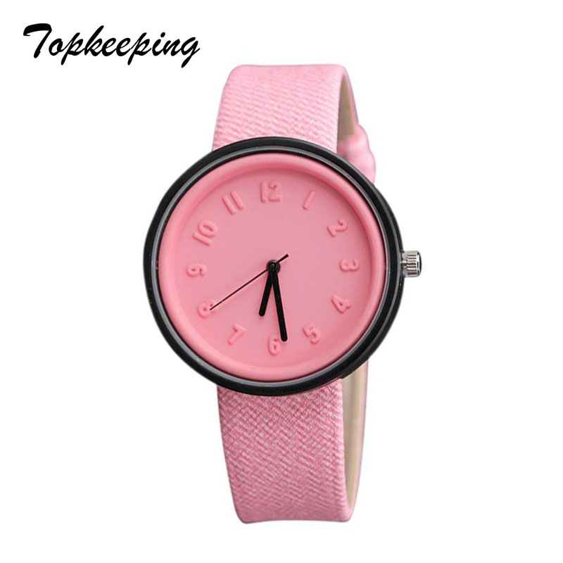Topkeeping Merk 2018 Mode Dames Horloges Meisjes Casual Harajuku - Dameshorloges