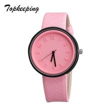 Topkeeping Brand 2018 Moda Mujer Relojes Niñas Casual Harajuku Estilo Candy Color Jelly Watch Ladies Sport Cuarzo Relojes de pulsera