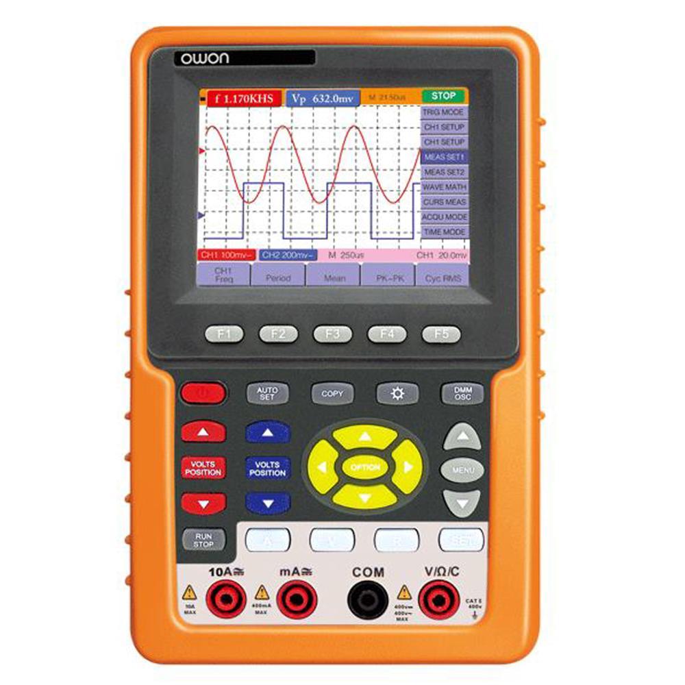 Owon HDS1022M-N 2 in 1 DSO Handheld Digital Storage Oscilloscope+Multimeter HDS1022M/N