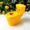 New Styles  Plastic Yellow Creative  Spray Water Closestools  Automatically Novelty Tricky Horror Gifts And Toys