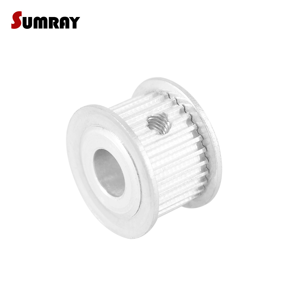 3M Timing Pulley 30T 6.35mm Bore for Stepper Motor 3D Printer 11mm Width HTD