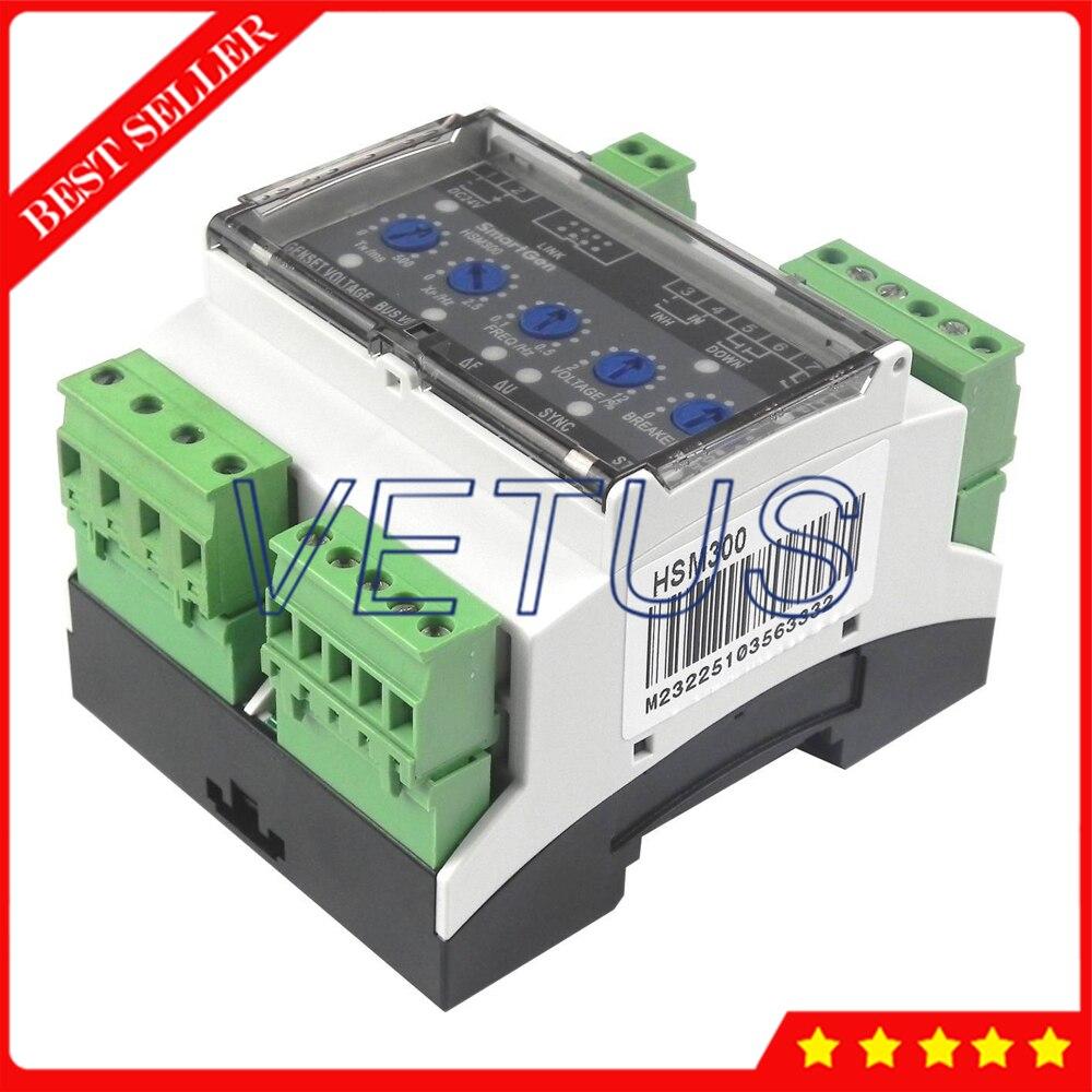 Синхронный модуль HSM300 дизайн для генератора Автоматическая параллельная с 35 мм направляющей монтажный синхронный модуль