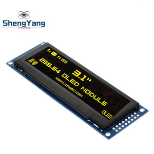 """Image 3 - ShengYang Real OLED Display  3.12"""" 256*64 25664 Dots Graphic LCD Module Display Screen LCM Screen SSD1322 Controller Support SPI"""