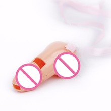 Adult Games Sex products Penis Whistle Necklaces for Bachelorette Party, Hen Parties,Wedding Showers Funny Sex Toys