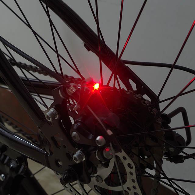 Online Shop Bicycle Rear Brake Lights Red Led Bike Taillights Mini