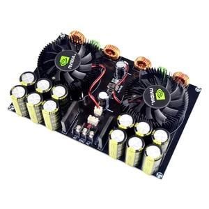 Image 2 - KYYSLB TDA8954 420W + 420W 2,0 Class D Digital Power Amplifier Board (Lüfter Kühlung) AC12.5V zu AC26V Verstärker Bord