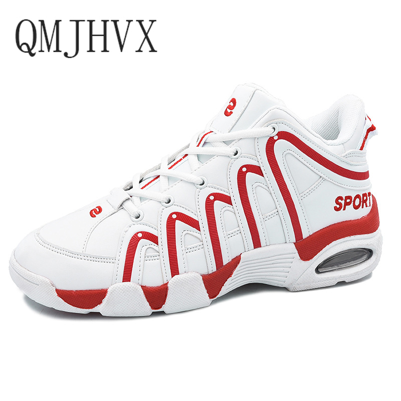 QMJHVX Korean fashion tenis feminino light breathable Casual increase thick soled student shoes casual shoes men women sneakers