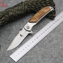 Dcbear Camping Survival Folding Knife With 3Cr13MOV Blade Sanding Surface Tactical Hunting Pocket Knives Outdoor Tool
