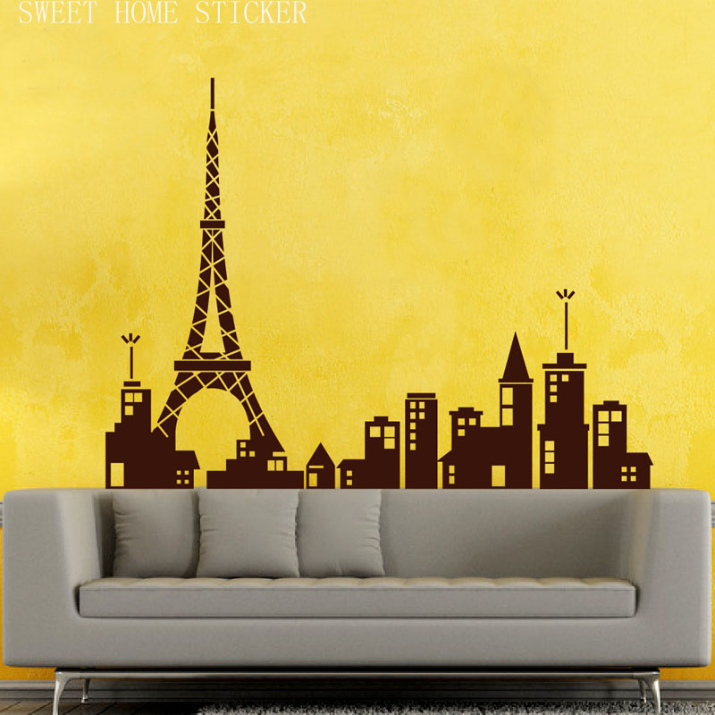 Perfect Paris Vinyl Wall Art Photos - Wall Art Design ...