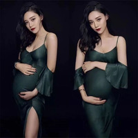 Sexy Maternity Dress For Photo Shoot Clothe For Pregnant Women Maternity Photography Props Pregnancy Dress Photography Clothing