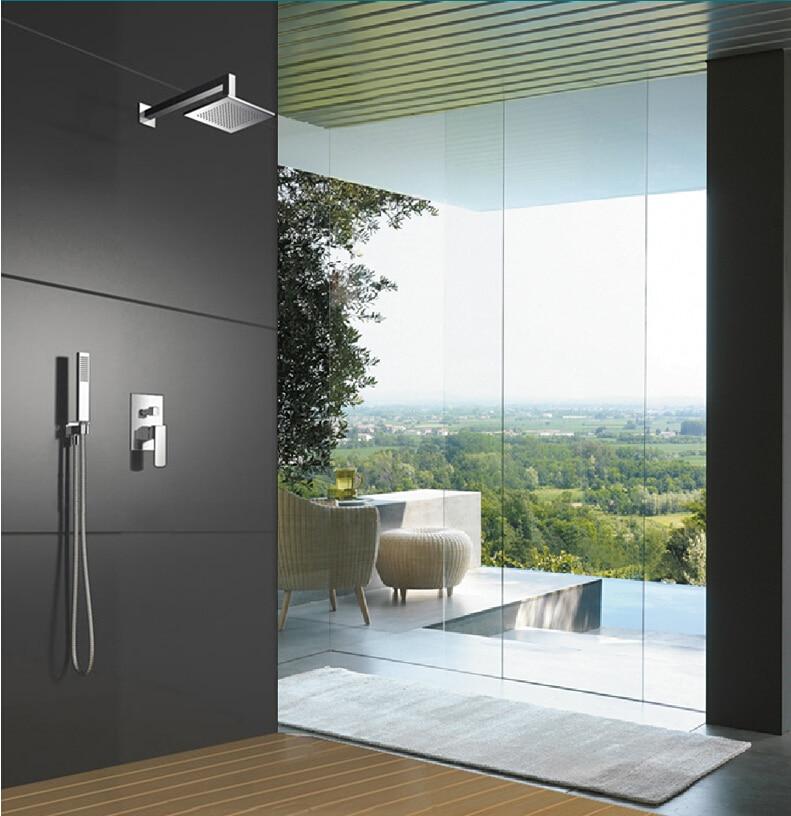 European Brass Shower Nozzle Antique Black Shower Set Retro Black Bronze Elevating Shower Head Shower Set Accessories - 5