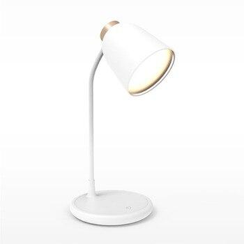読書 3 色ライト Led シリコーン充電タッチベッドヘッドランプ
