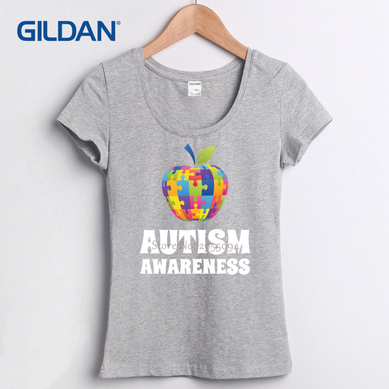 Personalized T Shirt Design Autism Awareness Short Compression Cool ...