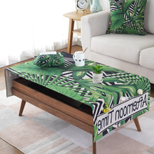 Simanfei Print Pattern Cotton Linen Waterproof Tablecloths Decorative Home Decor Table Cloth High Quality tablecloth недорого