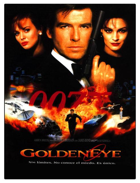 free shipping new james bond golden eye movie poster vintage customized fashion home decoration printed posters