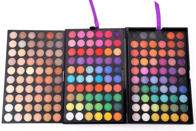 2016 Nuevos 180 Colores Completos de Sombra de Ojos Cosméticos Mineral Make Up Maquillaje Eye Shadow Palette Kit Profesional P120 #5