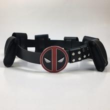 Deadpool Belt Cosplay Superhero Adjustable Belts Costume Accessories Halloween Props