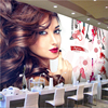 Beibehang Customize Any Size Mural Wallpaper Beauty Cosmetics Nail Shop Make Up Tooling Background Wall Papel