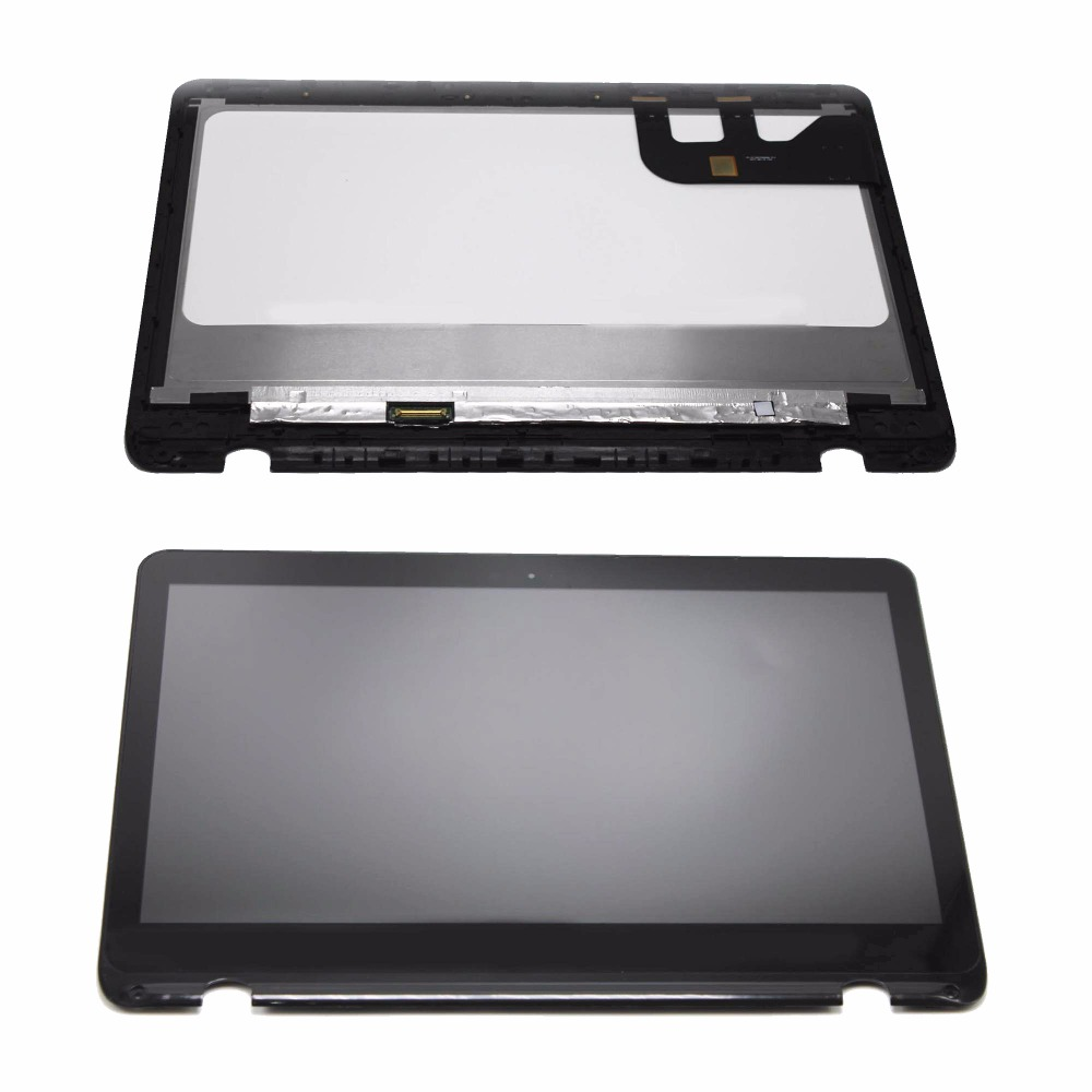 New 13.3 Full LCD Display Panel Touch Digitizer Screen Assembly with Bezel for Asus Q304 Q304UJ Q304UA Series Q304UA-BBI5T10 new 10 1 inch parts for asus tf701 tf701t lcd display touch screen digitizer panel full assembly free shipping