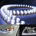 1 Pcs Car LED Strip Branco DRL Condução Daytime Running Luz Car Fog Estacionamento Signal Lâmpadas de Luz Decoração Do Carro Styling
