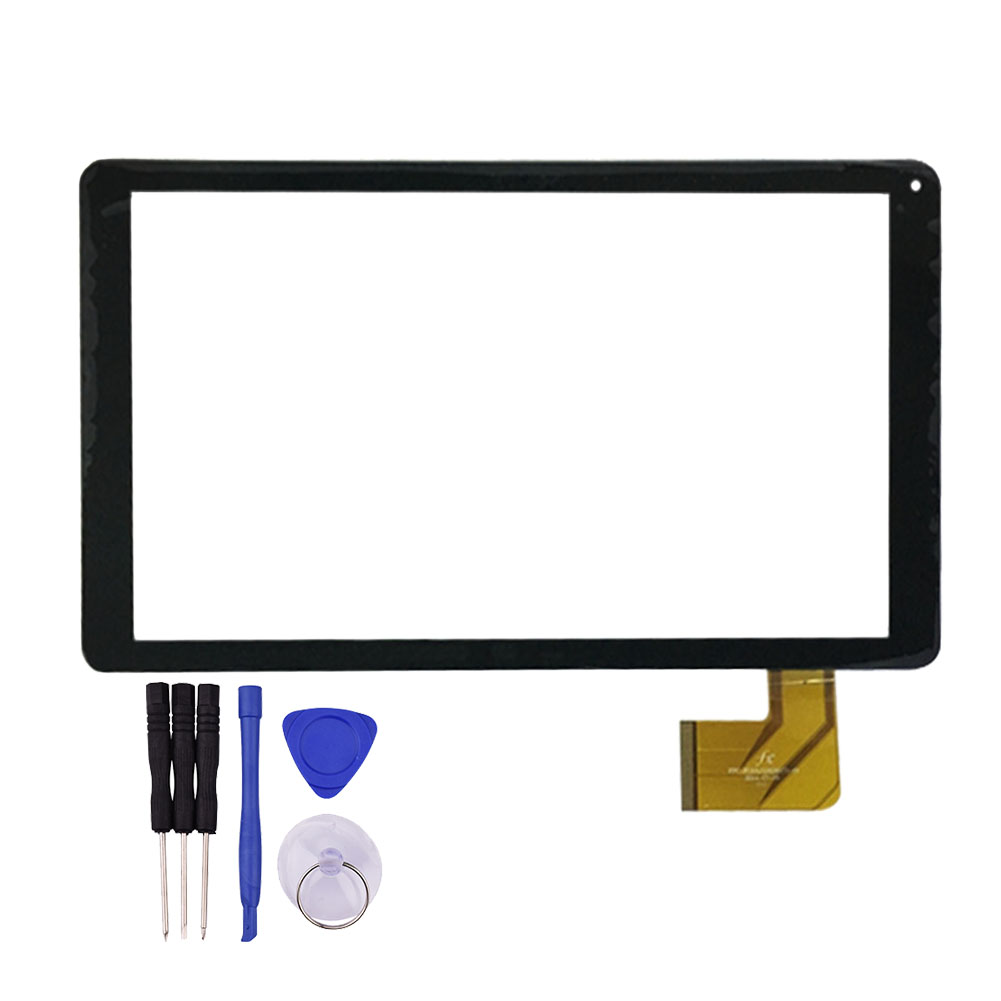 10.1 Inch for Touch Screen for WOXTER QX103 QX 103 Tablet PC Black Glass Panel Sensor Digitizer Replacement Free Shipping white or black new touch screen for 10 inch bdf tablet ch 1096a1 fpc276 v02 touch panel digitizer glass sensor replacement